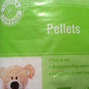 Pellets for the envelopes