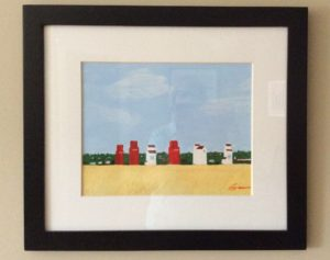 Norquay, SK - Painting by Maureen O'Shea