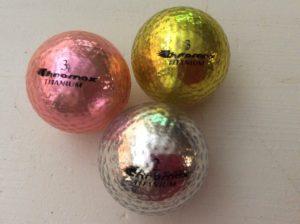 Chromax golf balls