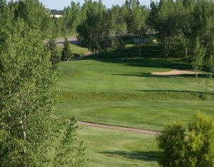 One of the holes at the Hillcrest Golf Club in Moose Jaw